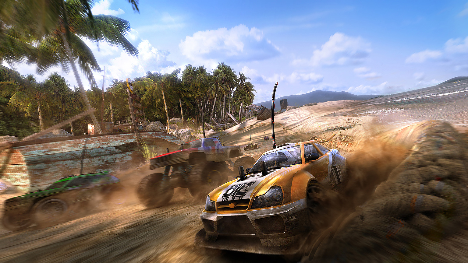 MotorStorm RC Concept Art by sundragon83