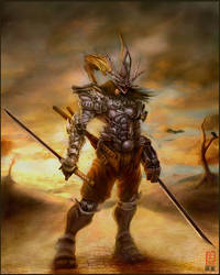 .:Spirit.Armour:Print:. by sundragon83