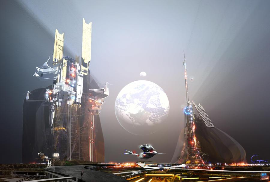 Meteor Base by SoaringBrain