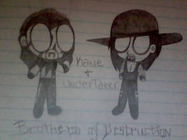 Undertaker and Kane Vampires by Jyoumifan1