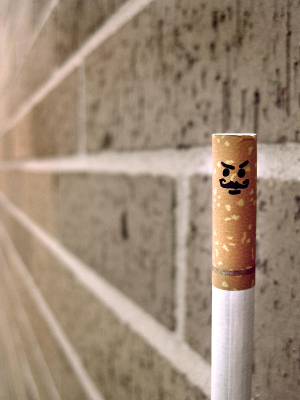 Evil Cigarette No 10 by juliannechristoffel