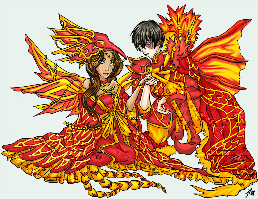 Atla The Dragon S Phoenix By Cynicalplushie On Deviantart