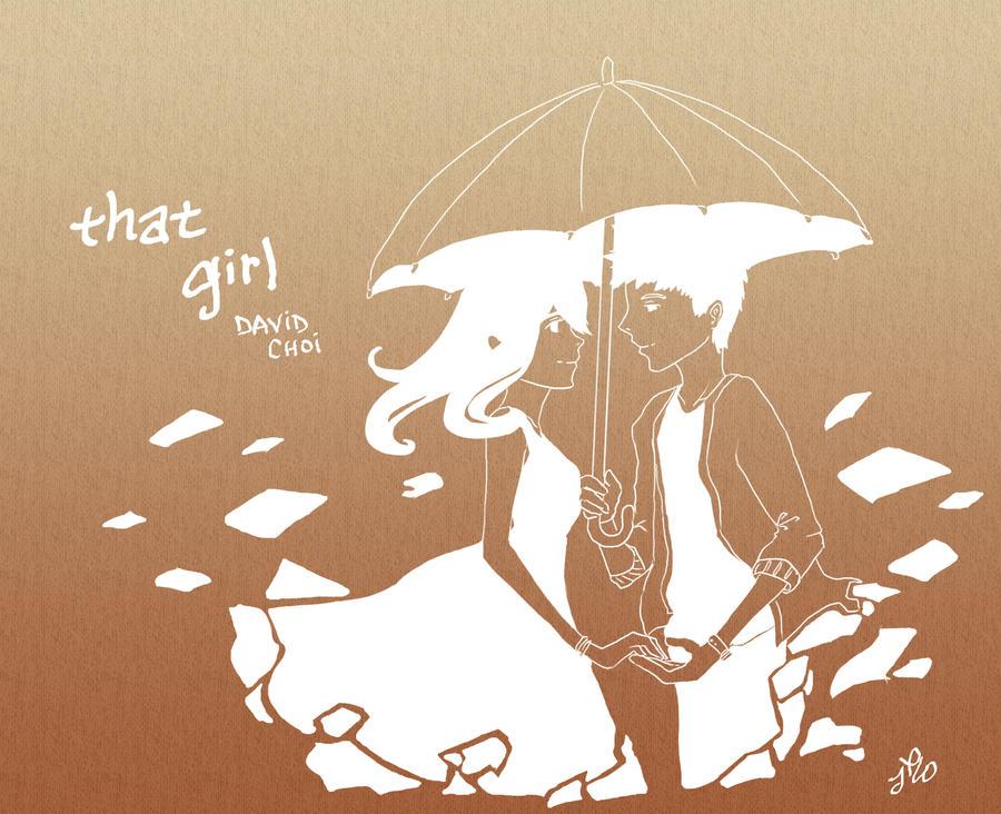 David Choi: That Girl by cynicalplushie