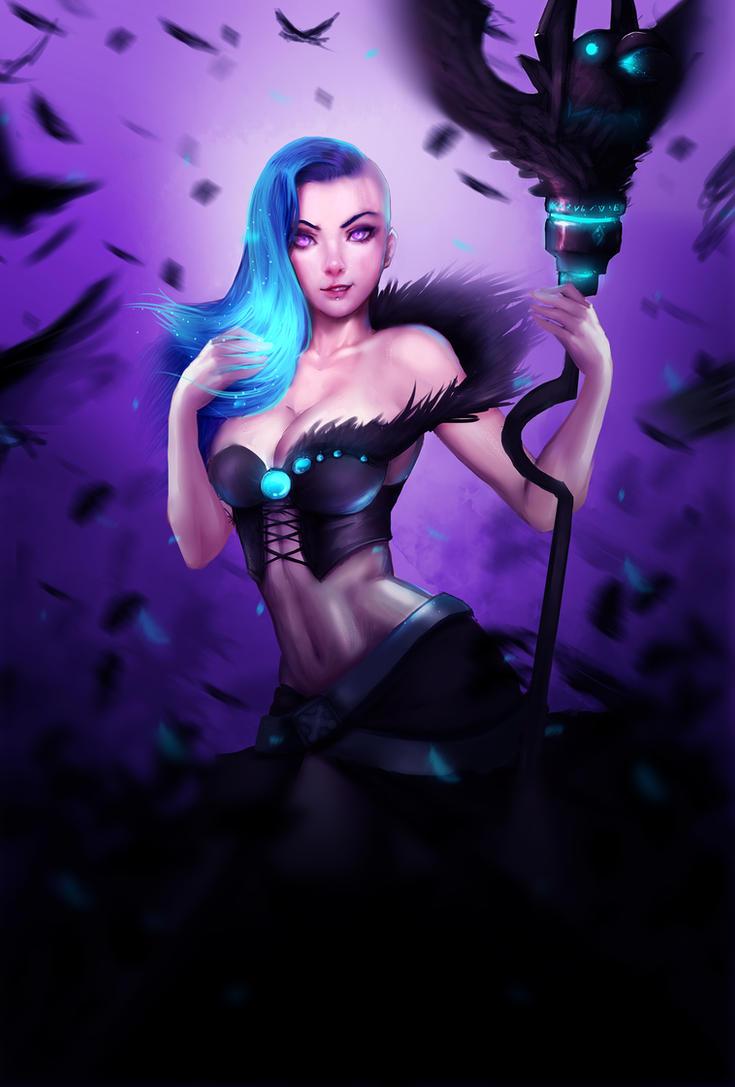 Outcast Odyssey contest: Witch by Ryumi-gin