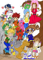 Digimon Adventure by arima