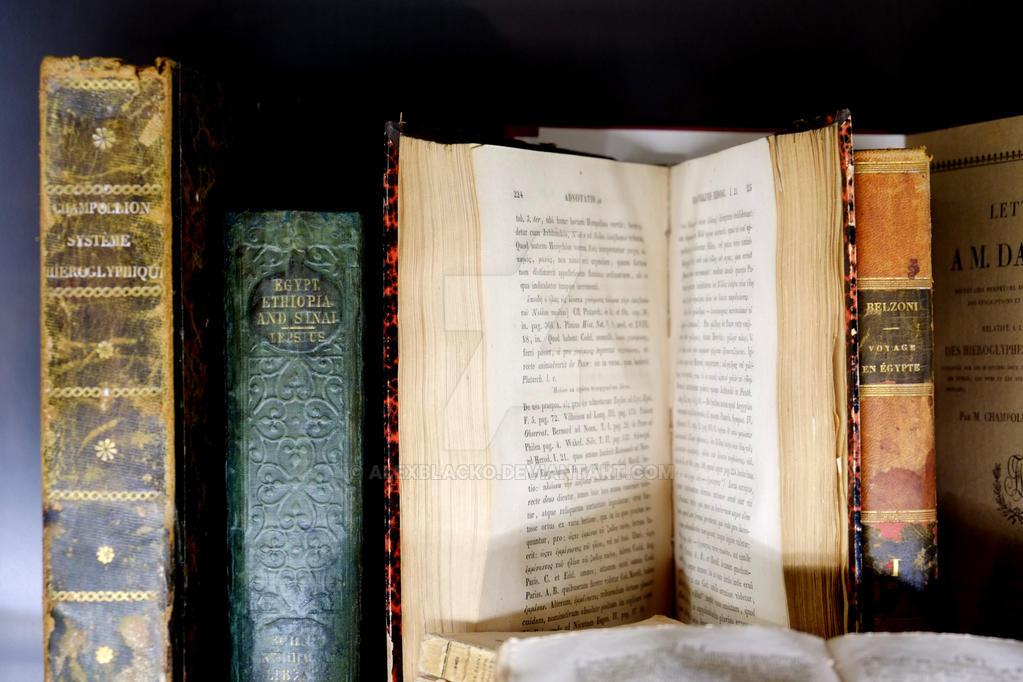 337_365 books by AlexBlackO