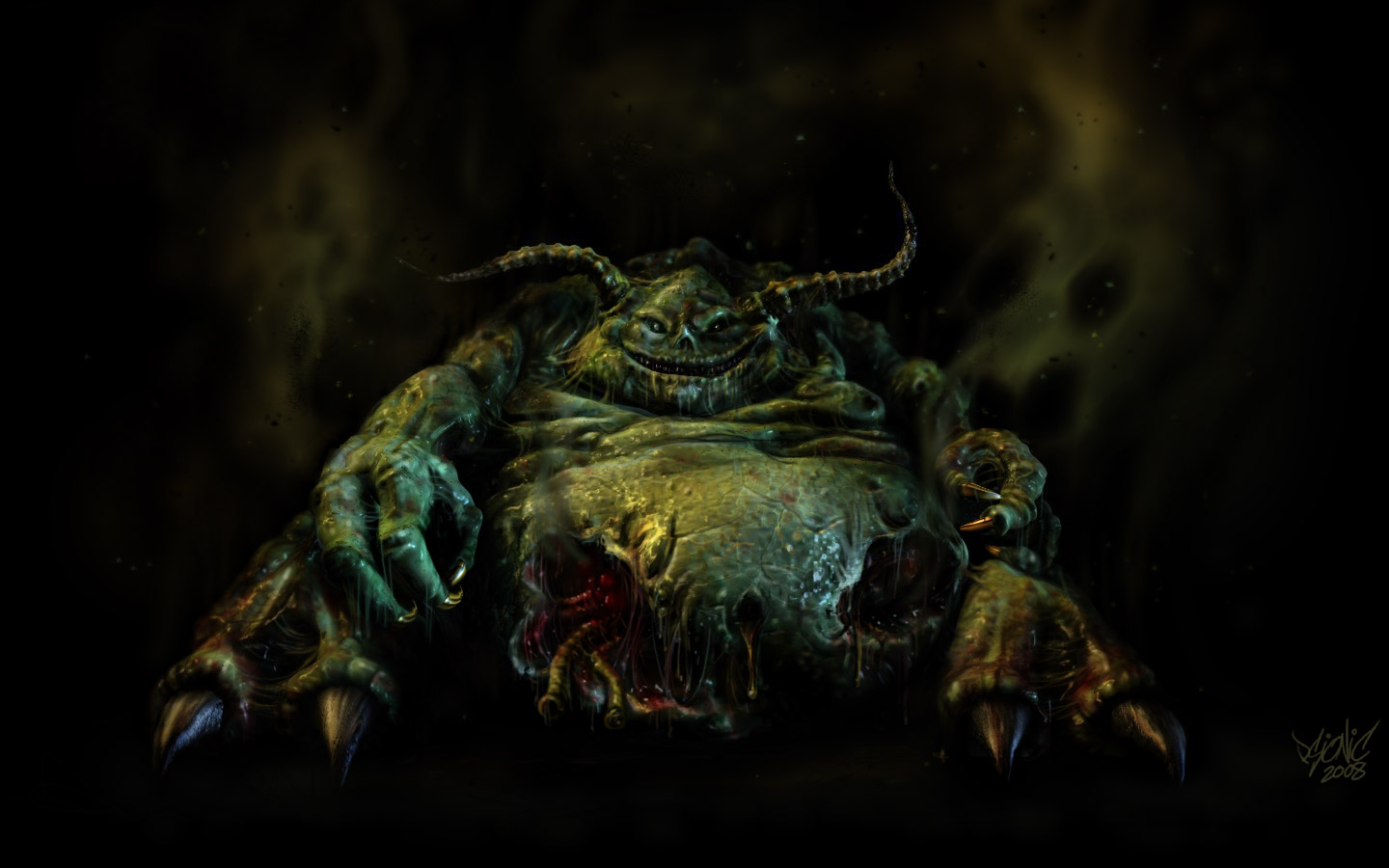 Greater Daemon of Nurgle by psionic on DeviantArt