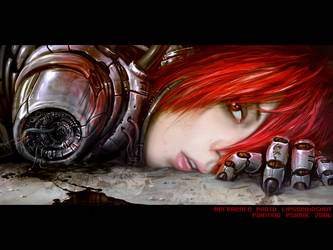 CyberGirl by psionic