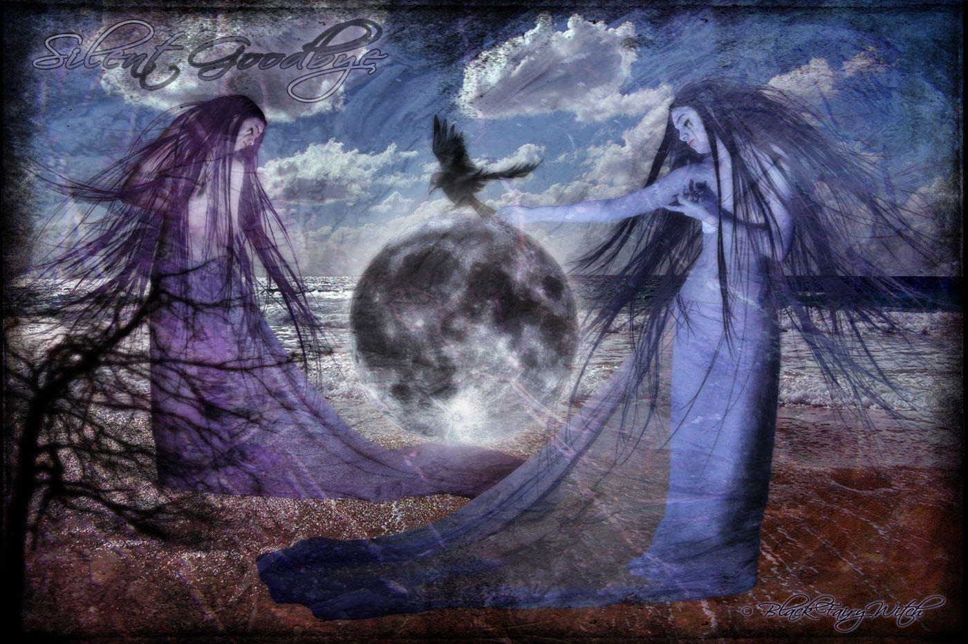 ..Silent Goodbye.. by BlackFairyWitch