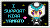 I Support Kira Yamato Stamp by Vigillant