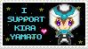 I Support Kira Yamato Stamp by Vigillant