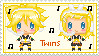 Vocaloid Twins stamp by Vigillant