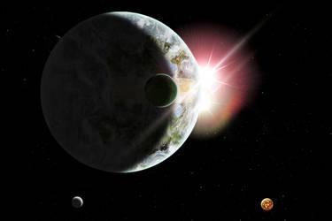 Planet Thardrandia by AldreaAlien