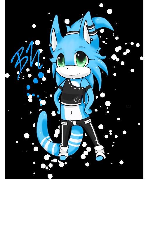 Lil Bluie by deerzii
