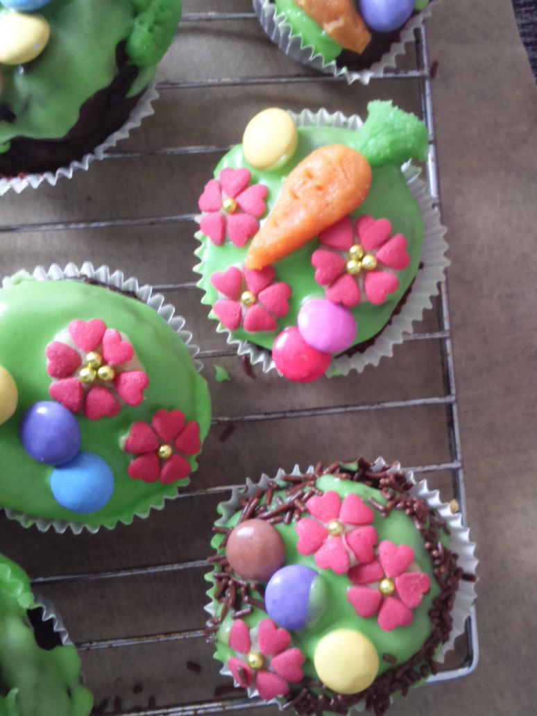 Easter Muffins - Detail by Yuna-chan666