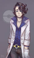 Pokemon: Professor Sycamore