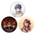 Pokemon: Just some badges design