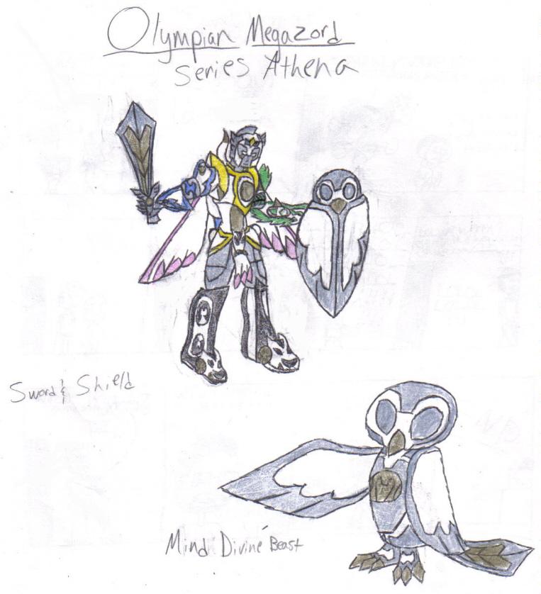 Series Athena by werewolfwannabe1224