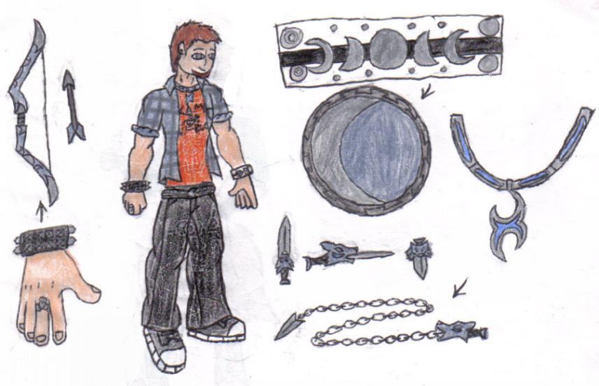 PJatO OC: Flynn Winchester by werewolfwannabe1224