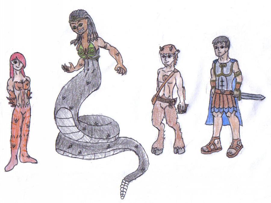 Mythology Story by werewolfwannabe1224