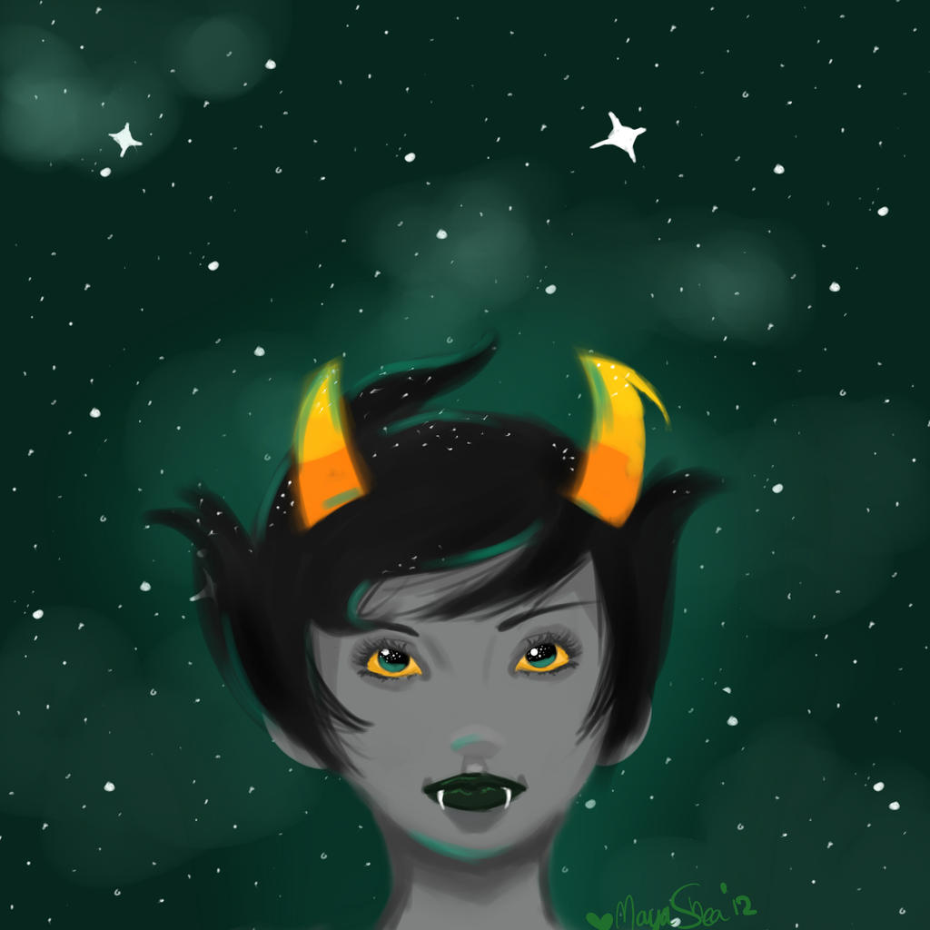 Kanaya's Stars by MayaShea