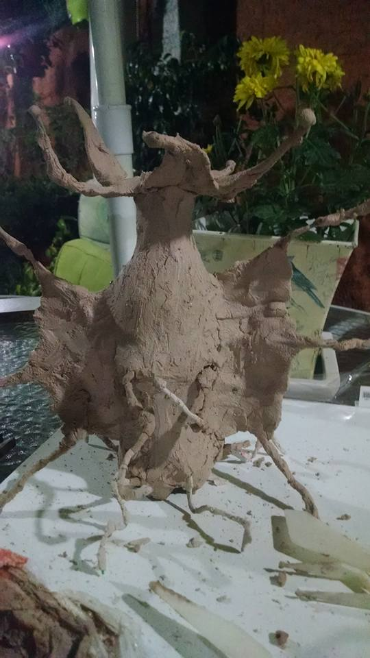 Elder Thing Sculpture by Sirvaine