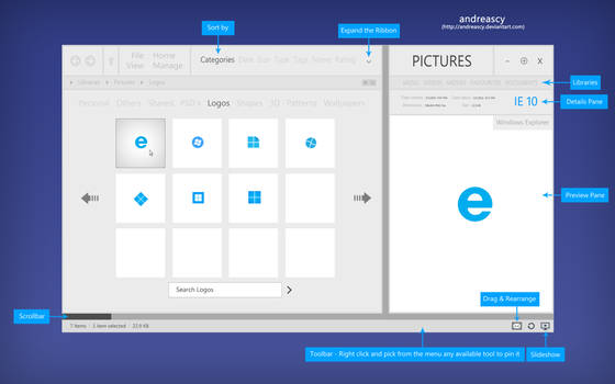 Windows Explorer Concept