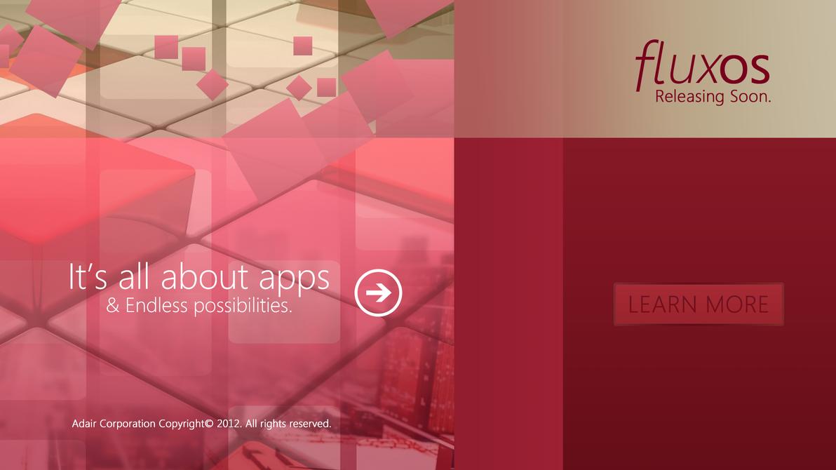 Fluix OS - Releasing Soon by andreascy