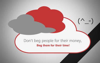 Don't Beg by andreascy