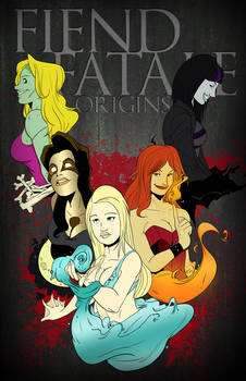 Fiend Fatale: Origins Cover Concept