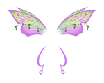 Tecna's Believix wings
