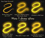 How I Draw Glowy Magic... Stuff.