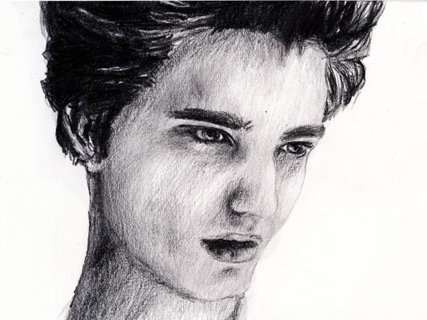 Edward Cullen Pencil Drawing By Flouny On Deviantart