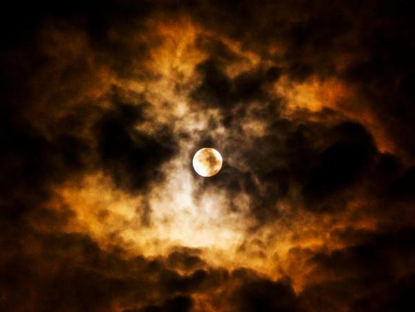 Moon over Ohrid by Simona777