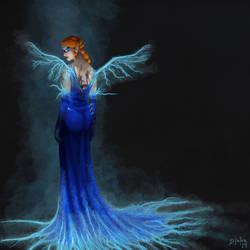 Eberron:  Thunder Empress (Formal Fire Re-Paint) by Djake
