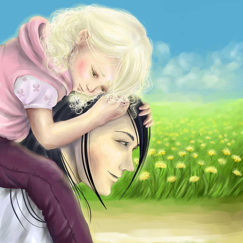 Becoming a Father by liska-rediska
