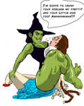 Wicked Witch Body Crushing Dorothy 1