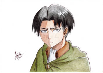 Levi Heichou by ChaoticTendencies