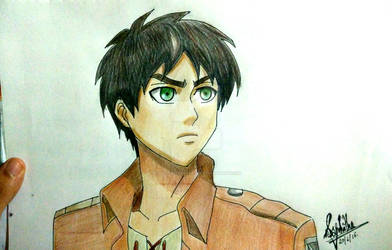 Eren Jaeger by ChaoticTendencies
