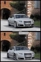 Tuning Fake Audi S8