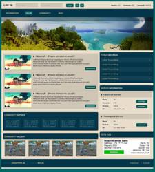 Website Minecraft 1