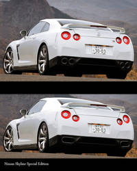 Tuning Fake Nissan Skyline GT-R