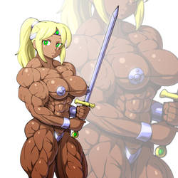 A simple warrior by devmgf