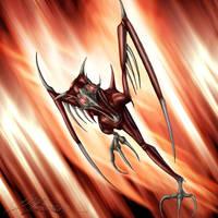 Hellfire Vrock by Dazvinik