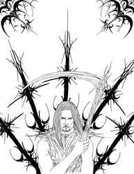 Antidragon Cover - Rough Lines by Dazvinik