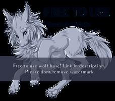 [F2U] Wolf Base by FuchsiaShrike