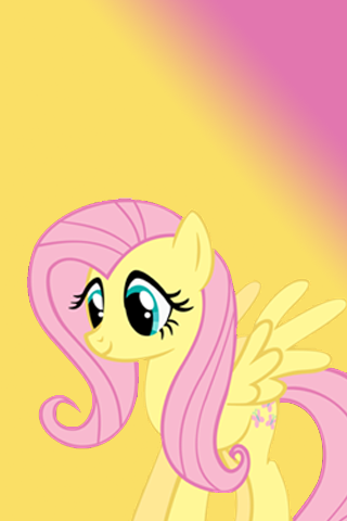 Fluttershy Cute IPod IPhone Wallpaper By AlphaMuppet On DeviantArt