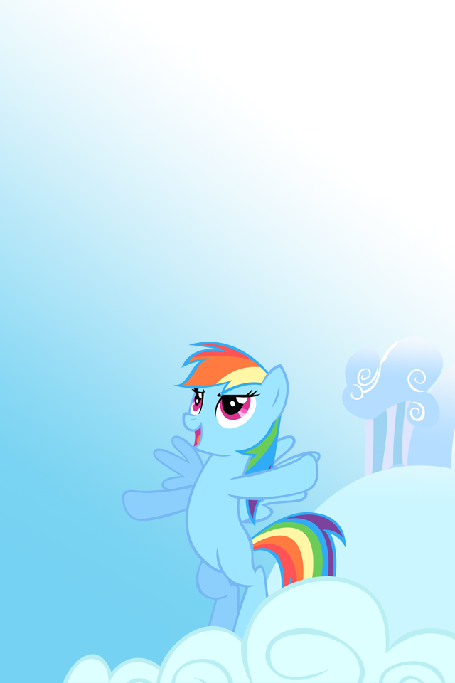 rainbow dash iphone wallpaper - photo #16