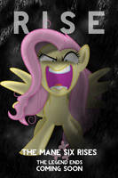 Fluttershy DKR Parody iPod/iPhone Wallpaper by AlphaMuppet