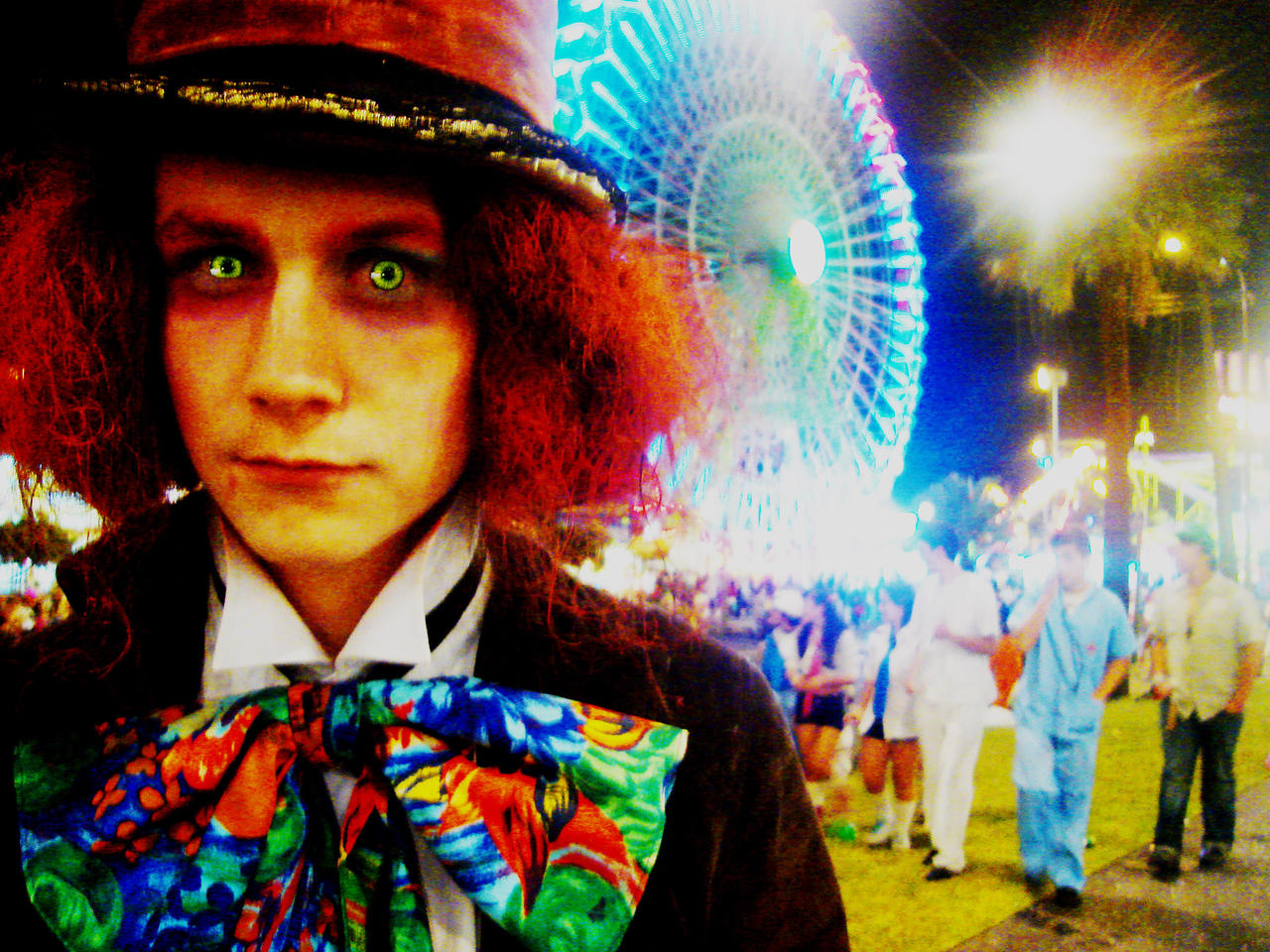 The Mad Hatter in Wonderland by Danny-Vain